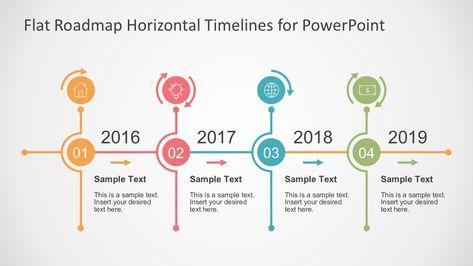 Flat Timelines PowerPoint Templates Powerpoint timeline slide - sample career timeline