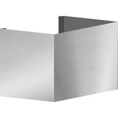 Vent A Hood Euroline Series Wall Mount Duct Cover Size 10 H X 10 W X 10 D In 2020 Wall Mount Ductless Range Hood Burner Covers