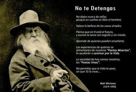 24 Ideas De Walt Whitman Walt Whitman Whitman Verso Libre