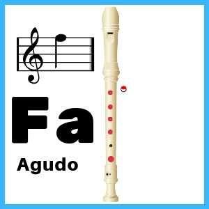Pin en flauta dulce practica