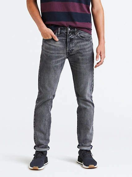Tacón cola Complacer  501® Taper Fit Men's Jeans - Grey   Grey jeans men, Men jeans grey, Jeans  outfit men