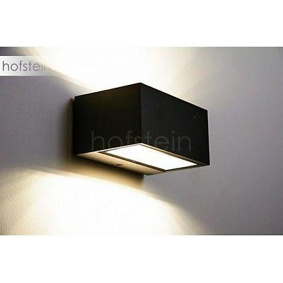 Applique Murale D Exterieur Mora Led Noir H3020067 Lampe Shop Ch Wandleuchte
