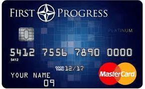 First Progress Platinum Elite Secured Credit Card Login Credit
