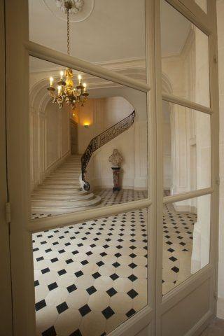 beautiful staircase ,  beautiful floor