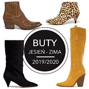 Buty Jesien Zima 2019 2020 Boots Shoes Ankle Boot