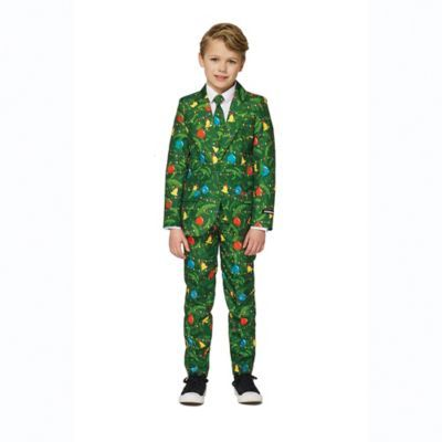 Suitmeister Size 8 10 Boy S Xmas Tree Suit Christmas Suit Christmas Tree Costume Christmas Tree Outfit