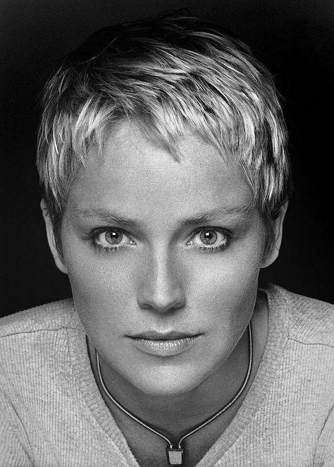 Sharon Stone by Brian Hamill