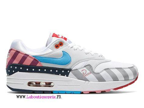 air max 1 blanc bleu rose