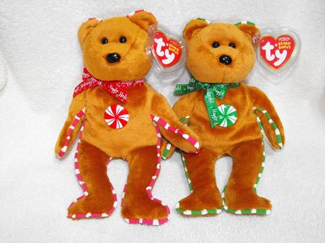 Ty Beanie Baby ~ YUMMY the Holiday Bear MWMT 8.5 Inch