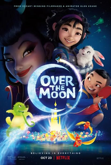 🎬 Over The Moon [TRAILER] Coming to Netflix October 23, 2020