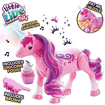 Amazon Com Little Live Pets Sparkles My Dancing Unicorn Toys Games Toys For Girls Little Live Pets Toys
