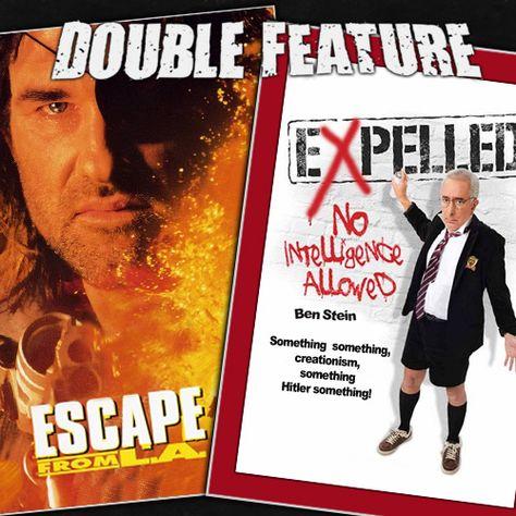 Escape from LA + Expelled - https://doublefeature.fm/2009/escape-from-la-expelled