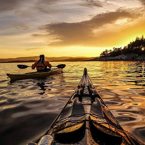 A l'assault des fjords en kayak