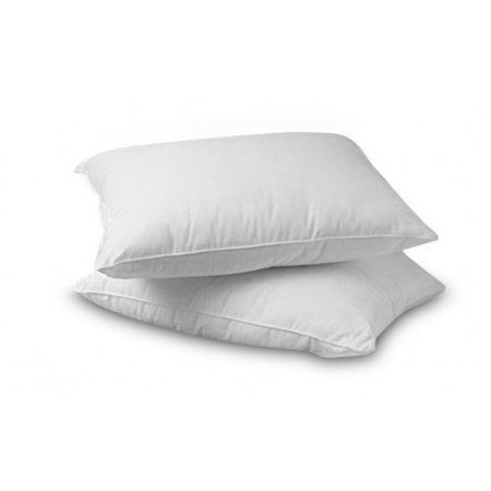Continental Bedding White Goose Feather And Down Pillow Set Of 2 King Pillowset Pillow Set Firm Pillows Pillows