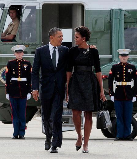 President Barack Obama & First Lady Michelle Obama.