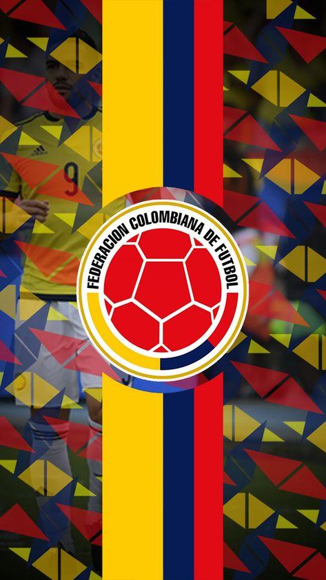 Escudo de la Selección Colombia.