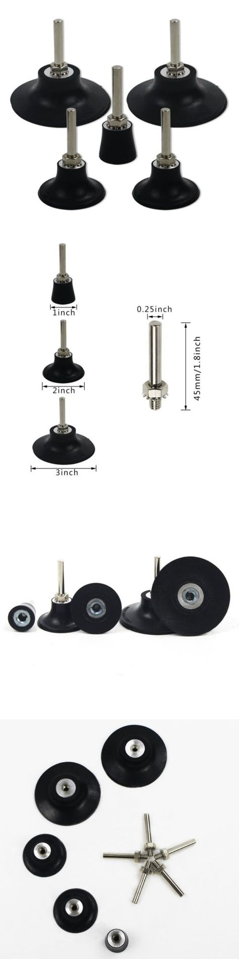 Sander Parts And Accessories 20796 Cocesa 5 Quick Replacement Roloc Disc Pad Holder Shank Polishing Rotating Tools With Images Tools For Sale Ebay Parts And Accessories