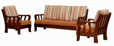 Pin by Lisa Easterwood on Beauty   Wood sofa, Wooden sofa ...
