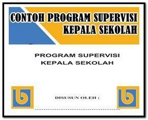 Contoh Program Supervisi Kepala Sekolah Format Words Docx Kepala Sekolah Sekolah Ekstrakurikuler