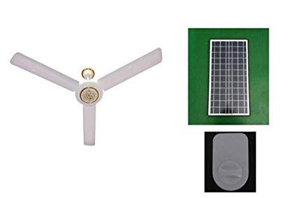 Generic Solar Ceiling Fan And Controller 48 Inch Without