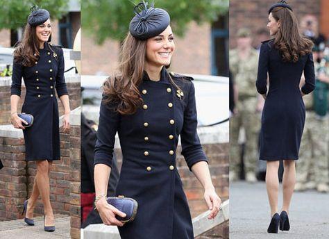 kate middleton fashion | Kate-Middleton-Military-Coat-Alexander-Mcqueen