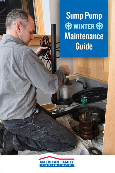 Ready Your Sump Pump For Spring Rain By Caring For It All Winter Long You Can Start Today Take A Look At Our Guide To Keep Sump Pump Sump Winter Maintenance
