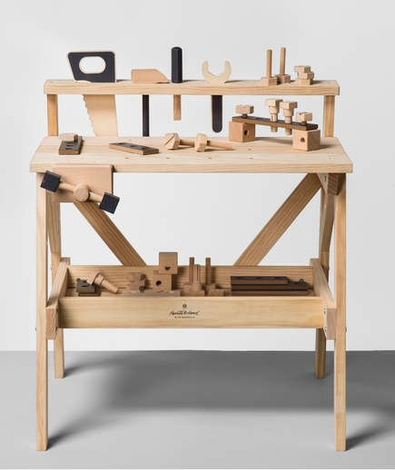 Here S Your First Look At Chip And Joanna Gaines New Brand At Target Tool Bench Toy Tools