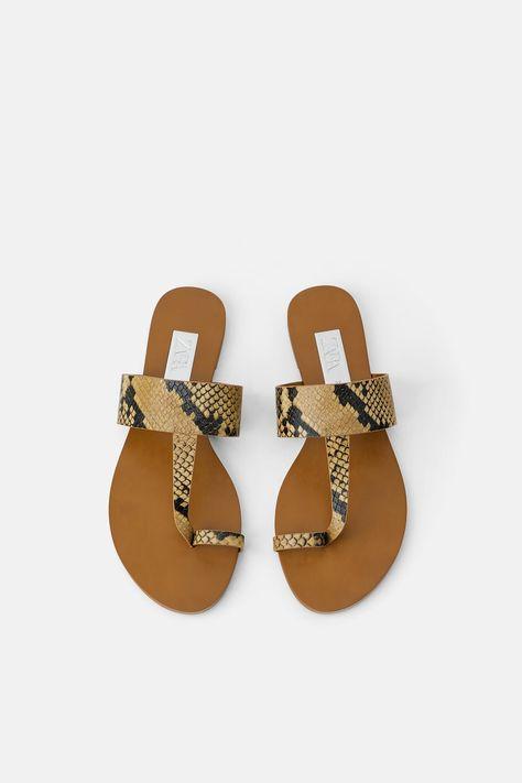 Topshop Honey Tan Flat Sandals | Flat sandals, Tan sandals