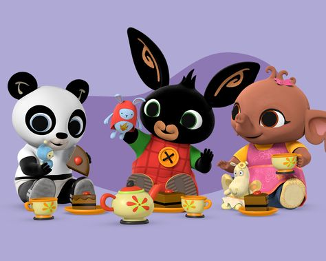 Welcome to Bing! Come and meet Bing Bunny, his carer Flop and all of their friends. Celebrating the noisy, joyful, messy reality of pre-school life. It's a Bing Thing!