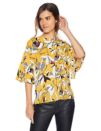 French Connection Womens Classic Crepe Light Polly Tops