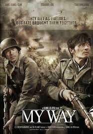 My Way Benim Yolum War Movies Action Movie Poster It Movie Cast