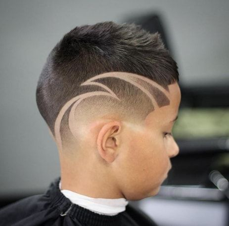 Short On Top With Creative Design Boys Haircuts Short Hair For Boys Little Black Boy Haircuts