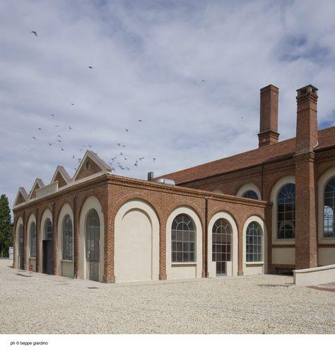 Restauro della lavanderia a vapore e allestimento del Centro Coreografico Internazionale nel complesso della Certosa Reale di Collegno, Antonio Besso-Marcheis. © Beppe Giardino