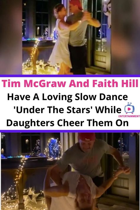 Tim Mcgraw Faith Hill, 11. September, Slow Dance, Country Music Stars, Under The Stars, Families, Cheer, Celebrity, Relationship