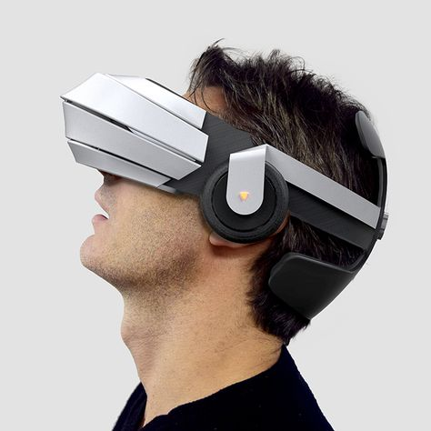 VR Glasses with integrated audio system, independent screens with high refreshing rate and low persistence, double HD cameras for augmented reality and even recording. A great immersion for video games, movies, augmented reality or telepresence.