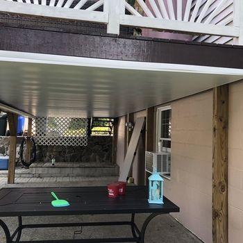 Underdeck Panel By Zip Up Deck Building Plans Building A Deck Deck Ceiling Ideas