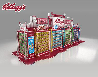 Check Out New Work On My Behance Portfolio Kellogg S Category Aisle Http Be Net Gallery 78047741 Kelloggs Category Nescafe Kelloggs Point Of Sale Display
