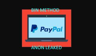 Bin Paypal 2021 Working Updated Daily Paypal Update Method