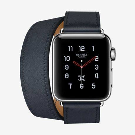 0c7c8b0e3075 Apple Watch Hermès Series 3 Double Tour 38 mm - H0000361 7600 ...