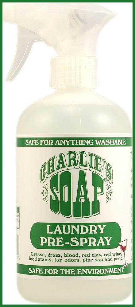 Charlie S Soap Laundry Pre Spray 16 9 Fl Oz Charlie S Soap Laundry Pre Spray Not Homemade But It Is Certifi Laundry Soap Laundry Stain Remover Laundry Stains