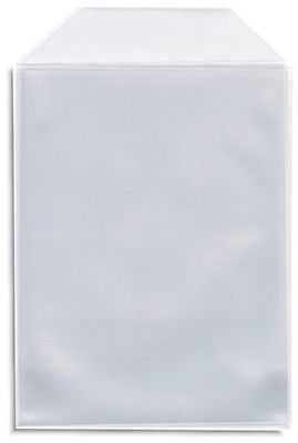 200 OPP Resealable Plastic Wrap Bags for Standard 10.4mm CD Case Peal /& Seal