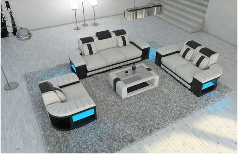 Teuer Sofa Garnitur 3 Teilig Leder In 2020 Home Home Decor Decor