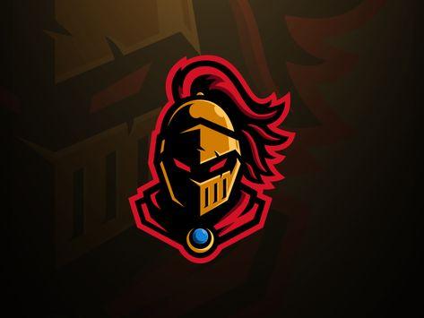 Golden Knight Mascot Logo Logo Design Art Golden Knights Knight Logo
