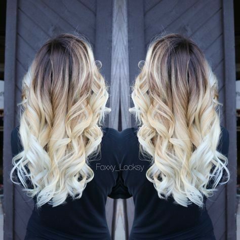 Ombre Hair Is Still One Of The Hottest Trends From Blonde Ombre Style To Black Silver Or Even Ash Tones Although Hair Styles Beautiful Hair Color Hair Color