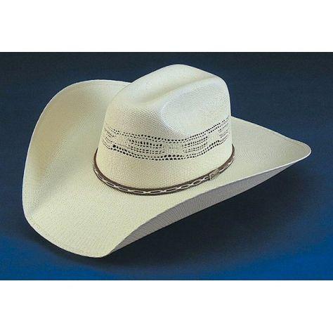 New Bullhide PRESCOTT 20X Palm Leaf Straw GUS Western Cowboy Hat
