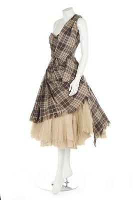 Special Garb: Couture - Alexander McQueen 'highland' wool dress, 'Widows of Culloden' 20006