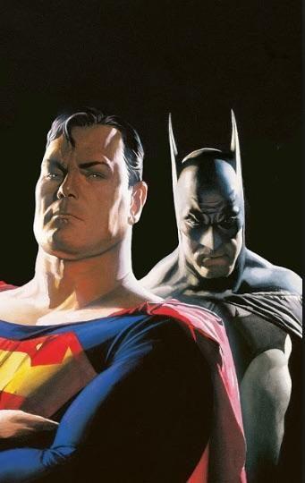 Would @Drewscott and I make a good Superman and Batman?