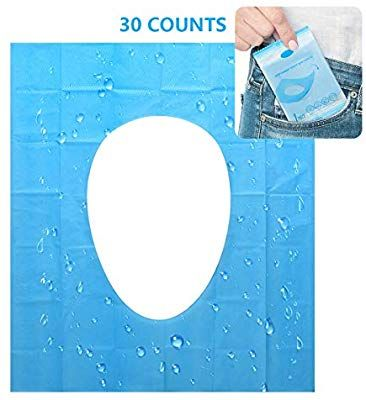 Disposable Toilet Seat Cover 30 Counts Us Size Waterproof
