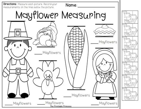Great introduction to non-standard measuring!