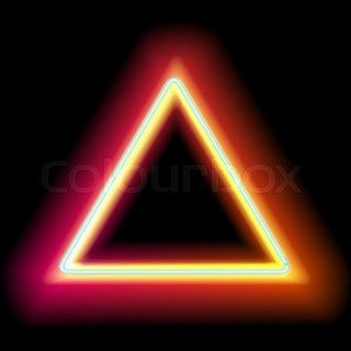 Lowing Electric Triangle Neon Lamp Neon Neon Lamp Triangle
